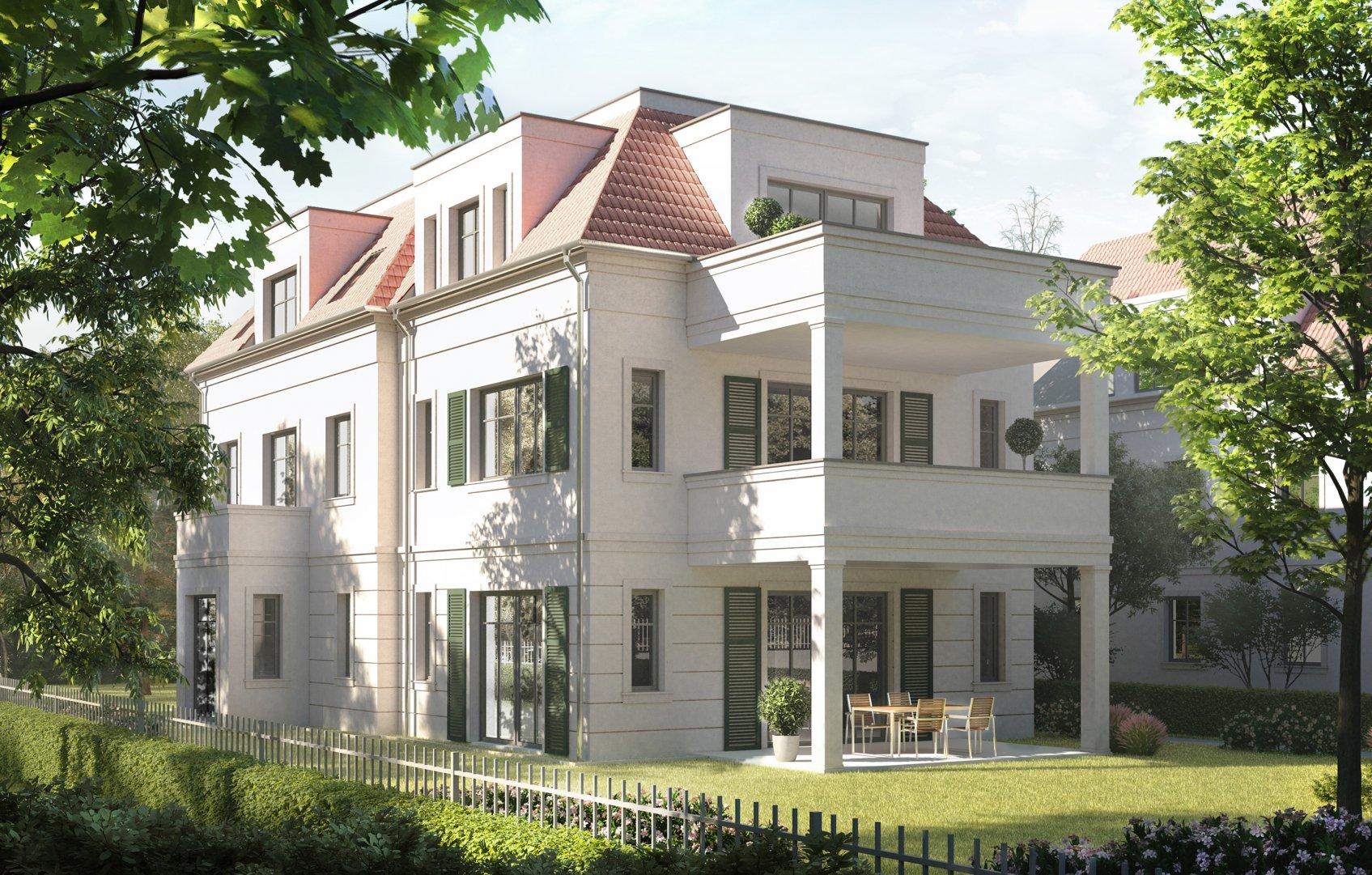 Eigentumswohnung Zehlendorf Villa Kyllmannstrasse